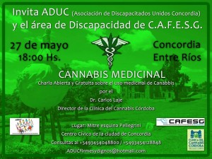 Flyer Charla Cannabis